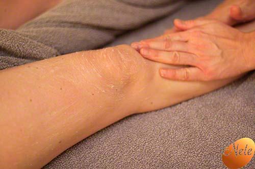 Peeling door massage