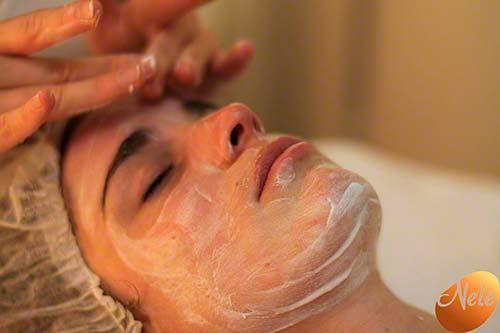 Zachte drainerende massage