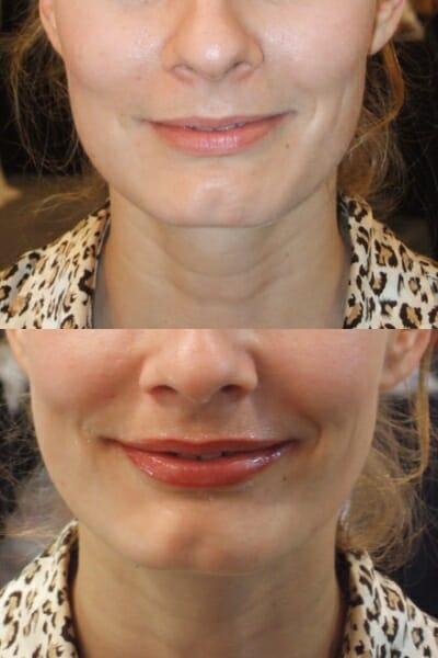Permanente Make-Up lipschaduw